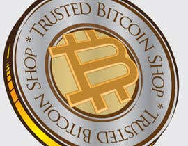 #10 for I need some Graphic Design for Trusted Bitcoin Shop Seal af popescumarian76