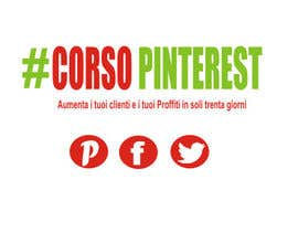 #8 untuk Disegnare un Logo per Corso Pinterest oleh getoargetoar