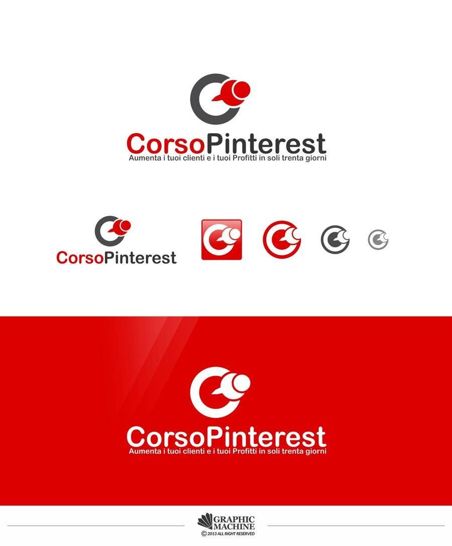 Inscrição nº 12 do Concurso para Disegnare un Logo per Corso Pinterest