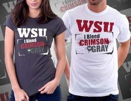 #40 for Design a T-Shirt for WSU College by nitabe