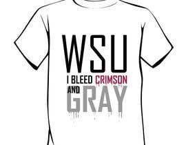 #26 for Design a T-Shirt for WSU College by salutyte