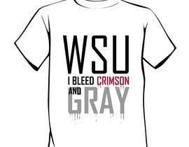 Nro 26 kilpailuun Design a T-Shirt for WSU College käyttäjältä salutyte