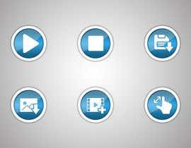 Nro 37 kilpailuun Design some Icons for video player käyttäjältä suriyanraj