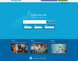tuanrobo tarafından Website Design for Tonybin (simple and cool designs wanted) için no 124