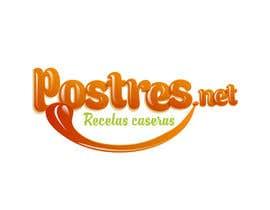 Nro 14 kilpailuun Diseñar un logotipo: postres.net käyttäjältä escarpia