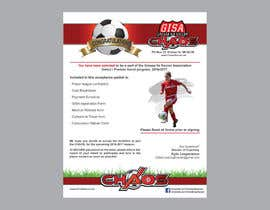 msranask tarafından Design a Flyer for youth soccer packet için no 6