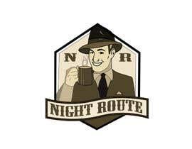rehmanmazher tarafından coffee shop logo (Night Route) için no 55