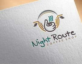 AmanGraphics786 tarafından coffee shop logo (Night Route) için no 59
