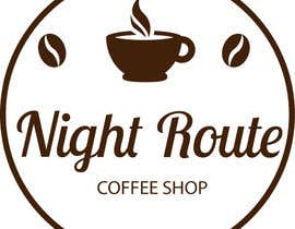 websiterr tarafından coffee shop logo (Night Route) için no 63