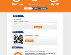 nº 2 pour Design a Website Mockup for BitCoin Website (One Page) par MagicalDesigner