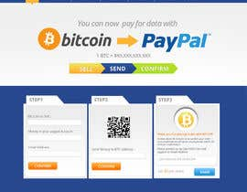 #5 for Design a Website Mockup for BitCoin Website (One Page) by MagicalDesigner