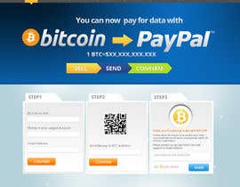 nº 6 pour Design a Website Mockup for BitCoin Website (One Page) par MagicalDesigner