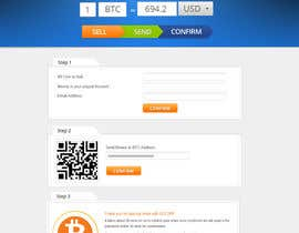 #30 for Design a Website Mockup for BitCoin Website (One Page) by MagicalDesigner