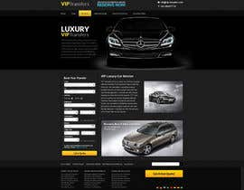 #42 para Design a Website Mockup for VIP Taxi Transfers por snali