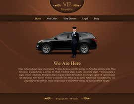 #5 for Design a Website Mockup for VIP Taxi Transfers af tania06