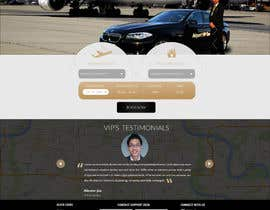 #41 para Design a Website Mockup for VIP Taxi Transfers por DLS1