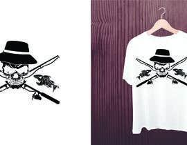 Nro 15 kilpailuun Design a skull/fishing T-Shirt käyttäjältä valgonx
