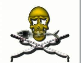 Nro 29 kilpailuun Design a skull/fishing T-Shirt käyttäjältä IamLaguz