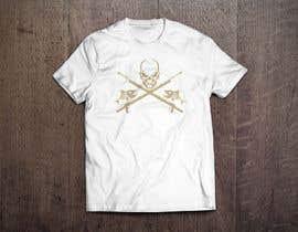 Nro 23 kilpailuun Design a skull/fishing T-Shirt käyttäjältä leodesigner1