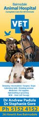 Contest Entry #13 thumbnail for Graphic Design for Bairnsdale Animal Hospital