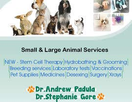 #14 para Graphic Design for Bairnsdale Animal Hospital por Vorksi