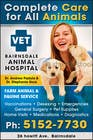 Graphic Design Конкурсная работа №47 для Graphic Design for Bairnsdale Animal Hospital