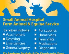 nº 67 pour Graphic Design for Bairnsdale Animal Hospital par michaelbj