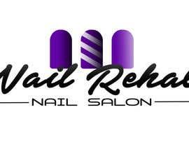 Nro 65 kilpailuun nail salon logo käyttäjältä Rhandyv