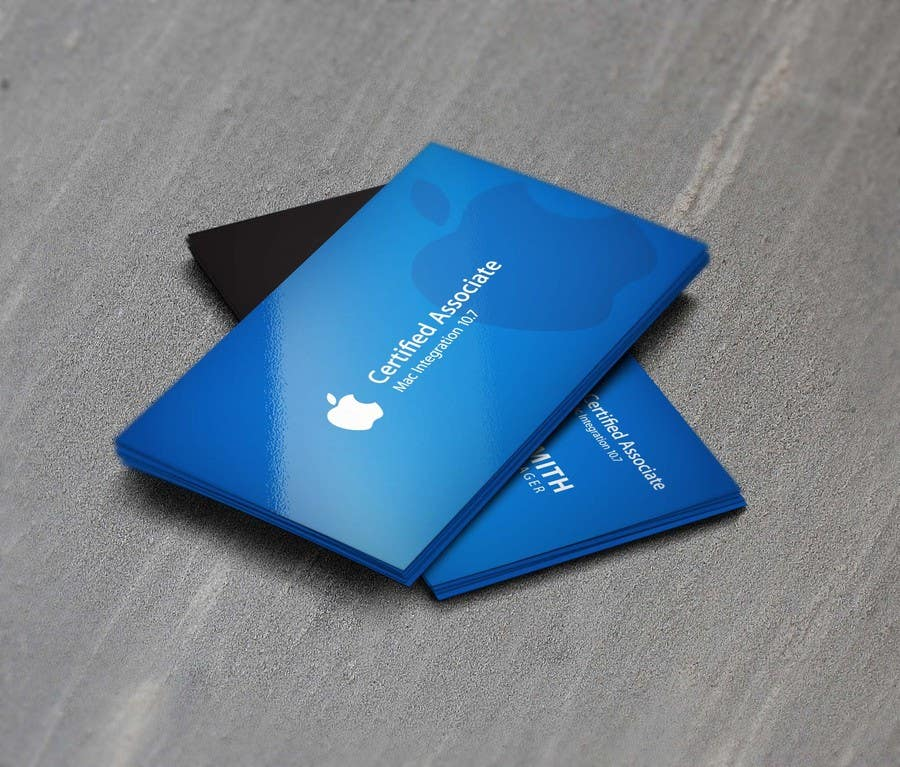 Entry #28 by Asifrbraj for Design some Business Cards for Apple ...