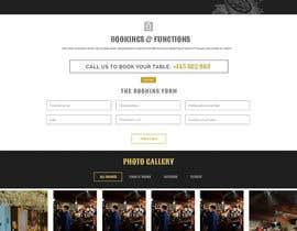 Nro 4 kilpailuun Design a Website Mockup käyttäjältä usashisl
