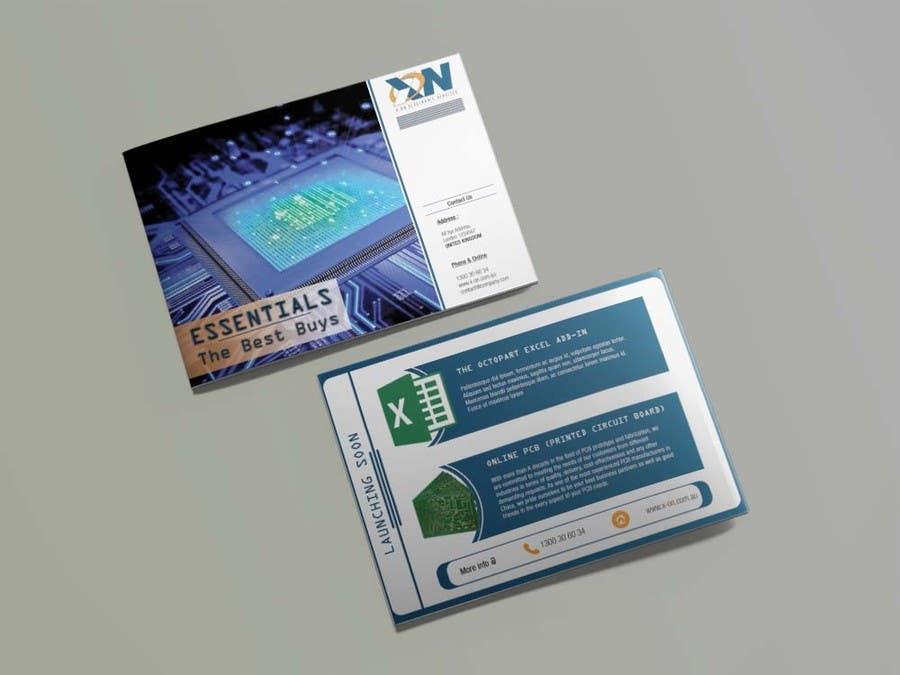 Konkurrenceindlæg #15 for Brochure / booklet -  Front & Back Page only