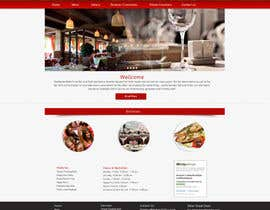 #14 for Web site mockup for restaurant and bar ( small site ) af Pixaart