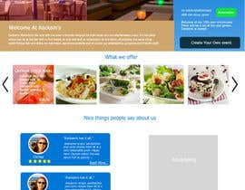 #21 cho Web site mockup for restaurant and bar ( small site ) bởi beFreeStudio