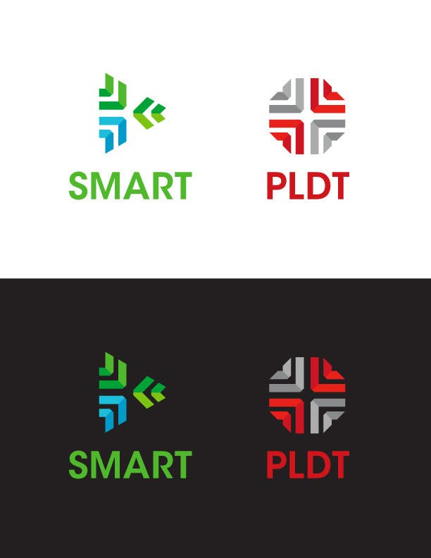 Konkurrenceindlæg #304 for Redesign SMART Communications & PLDT's Logos! #ANewerDay