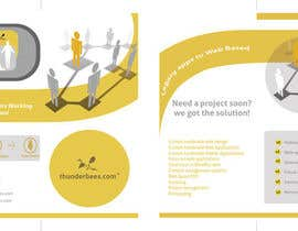 #63 for Design a Brochure for thunderbees by sergiovc