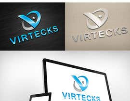 rivemediadesign tarafından Design a Logo for Virtecks için no 32