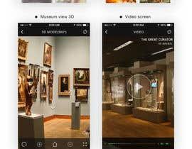 hitesh124 tarafından App Design - VR Museum Tour [Mobile] + Future Contract için no 11