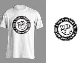 """jiamun tarafından Design a """"born to fish"""" fishing T-Shirt için no 25"""