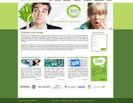 #7 untuk Home Page Website Design -  $300 to the winner if its really good! oleh infostarvision