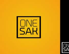 #32 para Design a Font Logo and a Facebook Banner for  ONE SAK por cornelee