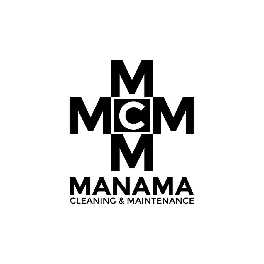 Kilpailutyö #89 kilpailussa Design a Logo for Manama Cleaning & Maintenance Company