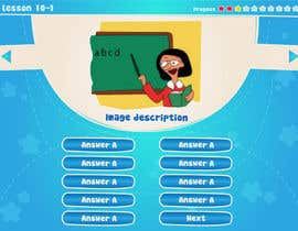#7 for Design cartoon UI for learning app (single frame) by patlau