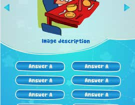 #8 for Design cartoon UI for learning app (single frame) by patlau