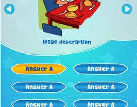 #15 cho Design cartoon UI for learning app (single frame) bởi patlau