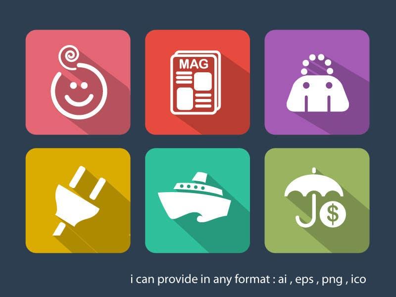Penyertaan Peraduan #                                        15                                      untuk                                         Design some Icons for my website