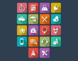 suneshthakkar tarafından Design some Icons for my website için no 19