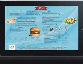 dnulmocanu tarafından Layout a Pizzeria Menu için no 8