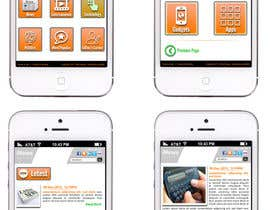 #12 for Design the User interface for a Mobile News App af sharpBD
