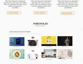 Nro 1 kilpailuun Design a Website Mockup käyttäjältä Amit2307
