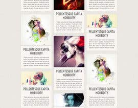 #27 para Design a Website for a Local Acting/Modeling Agency por anup27931
